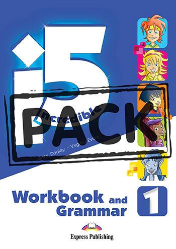 INCREDIBLE 5 1 WORKBOOK GRAMMAR (+ DIGIBOOKS APP)