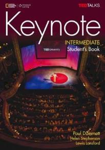 KEYNOTE INTERMEDIATE STUDENT'S BOOK (+ DVD)
