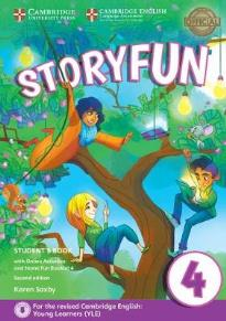 STORYFUN 4 STUDENT'S BOOK (+ HOME FUN BOOKLET & ONLINE ACTIVITIES) (FOR REVISED EXAM FROM 2018 - MOVERS) 2ND ED