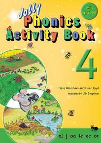 JOLLY PHONICS ACTIVITY BOOK 4 PB