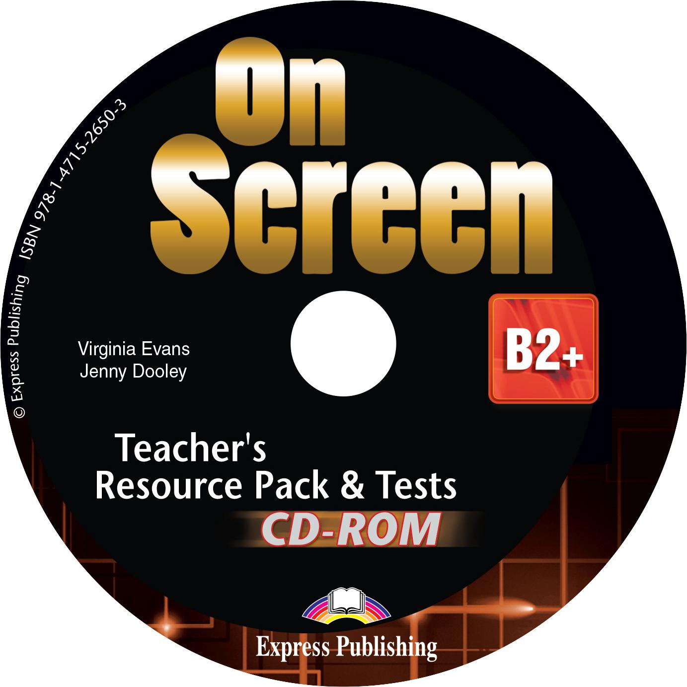ON SCREEN B2+ TEACHER'S BOOK  RESOURCE CD-ROM (+ TESTS) 2015