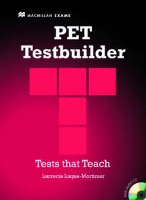 PET TESTBUILDER STUDENT'S BOOK (+ AUDIO CD) WITH KEY N/E