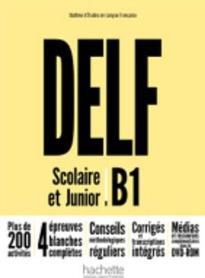DELF SCOLAIRE & JUNIOR B1 METHODE (+ DVD-ROM) N/E