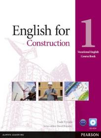 ENGLISH FOR CONSTRUCTION 1 STUDENT'S BOOK (+ CD-ROM)