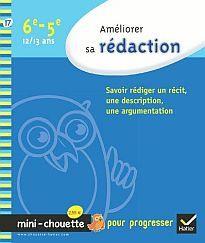 AMELIORER LA REDACTOIN 6EME - 5EME