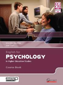 ENGLISH FOR PSYCHOLOGY STUDENT'S BOOK (+ CD)