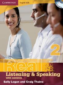 REAL LISTENING & SPEAKING 2 STUDENT'S BOOK (+ CD) W/A