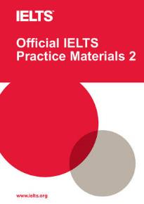 OFFICIAL PRACTICE MATERIALS 2 IELTS STUDENT'S BOOK (+ DVD) W/KEY