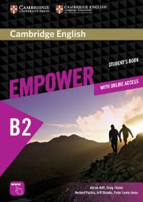 EMPOWER B2 STUDENT'S BOOK (+ ONLINE ASSESSMENT, PRACTICE & ONLINE W/B)