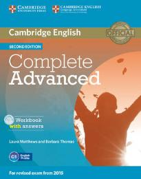 COMPLETE ADVANCED WORKBOOK W/A (+ CD) 2ND ED