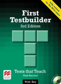 FIRST TESTBUILDER STUDENT'S BOOK (+ AUDIO CDs) WITH KEY 3RD ED