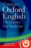 OXFORD COMPACT ENGLISH DICTIONARY FOR STUDENTS PB