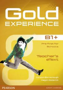 GOLD EXPERIENCE B1+ ACTIVE TEACH IWB SOFTWARE