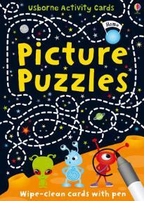 USBORNE ACTIVITY CARDS : PICTURE PUZZLES