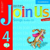JOIN US FOR ENGLISH 4 CD SONG