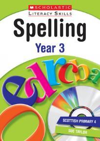 SPELLING YEAR 3 (+ CD)