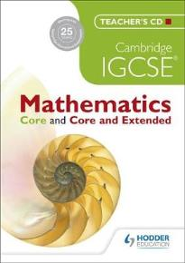 TEACHER CD: CAMBRIDGE IGCSE MATHEMATICS CORE & CORE EXTENDED IGCSE