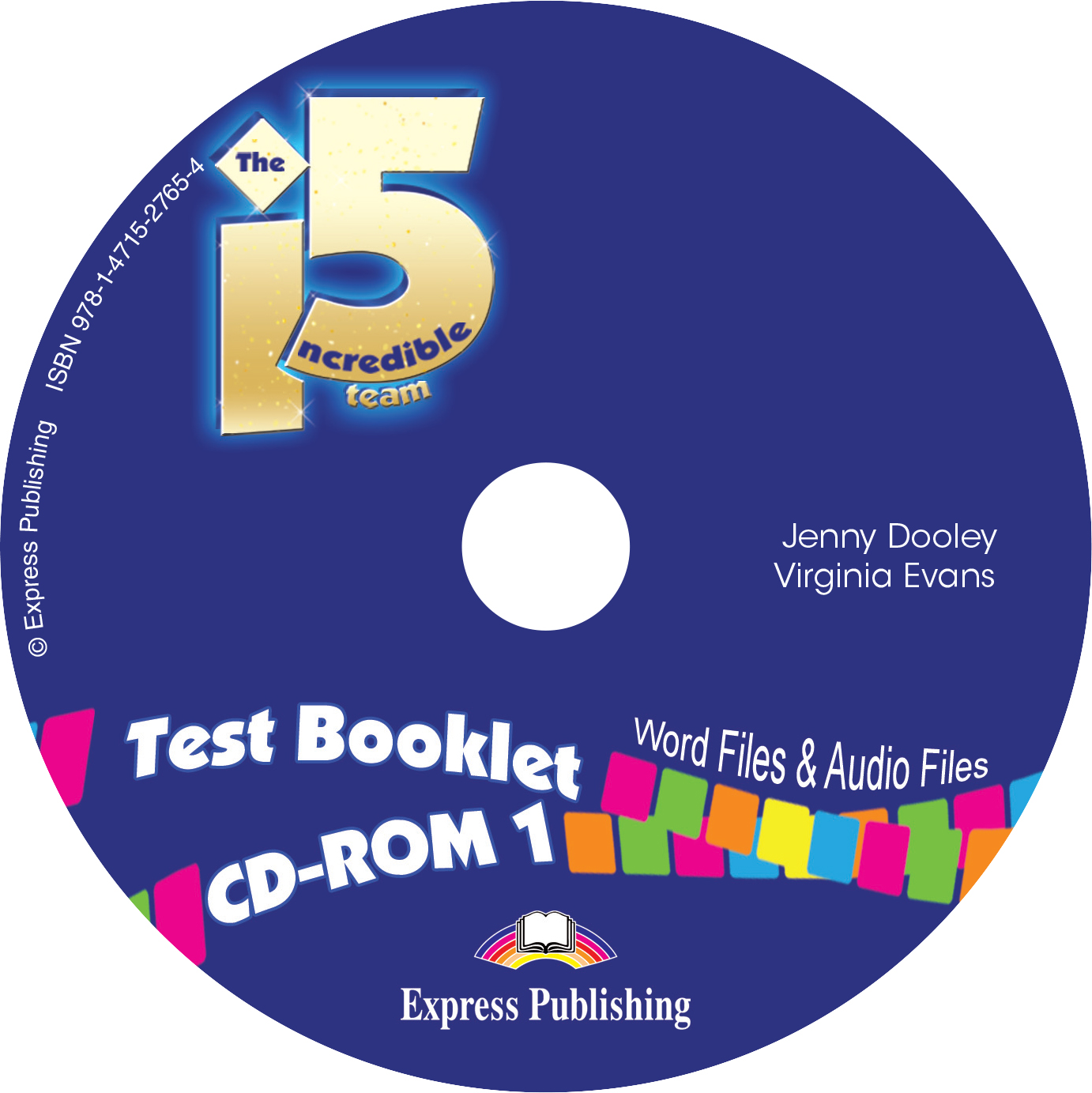 INCREDIBLE 5 TEAM 1 CD-ROM TEST (GREECE)