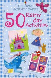 USBORNE ACTIVITY CARDS 50 RAINY DAY ACTIVITIES