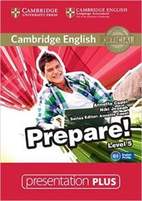 PREPARE! 5 PRESENTATION PLUS DVD
