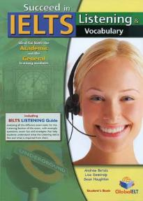 SUCCEED IN IELTS LISTENING & VOCABULARY SELF STUDY PACK