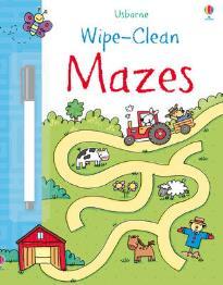 USBORNE WIPE-CLEAN : MAZES PB