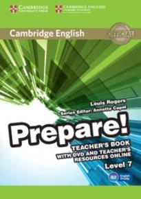 PREPARE! 7 TEACHER'S BOOK  (+ DVD & TEACHER'S BOOK  ONLINE RESOURCES)