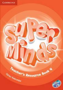 SUPER MINDS 4 TEACHER'S BOOK  RESOURCE PACK