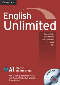 ENGLISH UNLIMITED A1 STARTER TEACHER'S BOOK  (+ DVD)