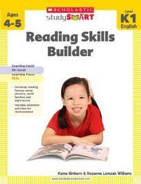 STUDY SMART : READING SKILLS BUILDER (K1) PB