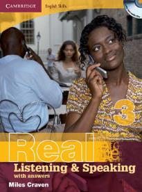 REAL LISTENING & SPEAKING 3 STUDENT'S BOOK (+ CD) W/A