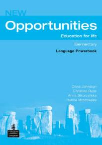 OPPORTUNITIES ELEMENTARY LANGUAGE POWERBOOK N/E