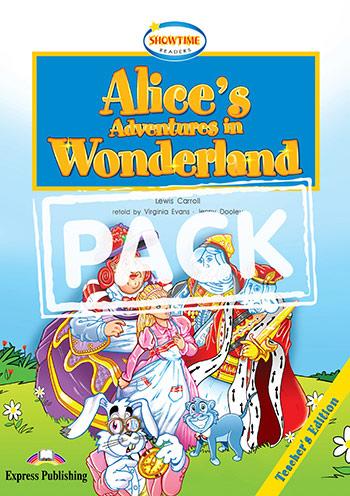 ELT SR 1: ALICE'S ADVENTURES IN WONDERLAND TEACHER'S BOOK  (+ MULTI-ROM)