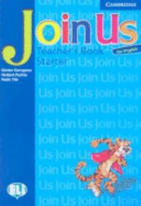 JOIN US FOR ENGLISH STARTER TEACHER'S BOOK