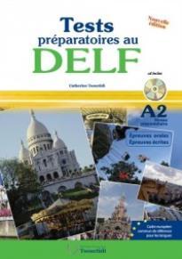 TEST PREPARATOIRES AU DELF A2 METHODE (+ CD) N/E