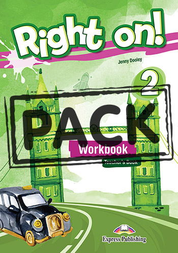 RIGHT ON ! 2 TEACHER'S BOOK  WORKBOOK (+ DIGIBOOKS APP)