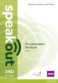 SPEAK OUT PRE-INTERMEDIATE WORKBOOK WITH KEY 2ND ED