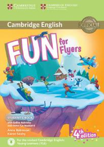 FUN FOR YLE FLYERS STUDENT'S BOOK (+ HOME FUN BOOKLET & ONLINE ACTIVITIES) (FOR REVISED EXAM FROM 2018) 4TH ED