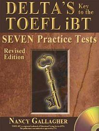 DELTA'S KEY TO THE TOEFL TOEFL PRACTICE TESTS STUDENT'S BOOK ( + MP3 Pack) IBT(7 TESTS)