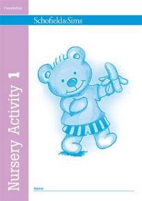 NURSERY ACTIVITY BOOK 1  PB