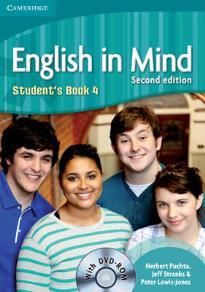 ENGLISH IN MIND 4 STUDENT'S BOOK (+ DVD-ROM) 2ND ED
