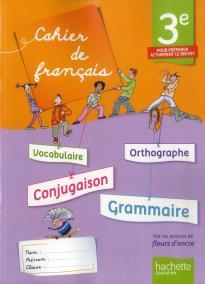 CAHIER DE FRANCAIS 3E