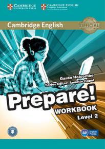 PREPARE! 2 WORKBOOK ( + ON LINE AUDIO)