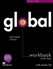 GLOBAL ADVANCED WORKBOOK WITH KEY (+ CD)