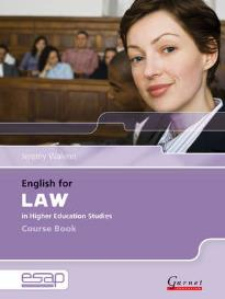 ENGLISH FOR LAW STUDENT'S BOOK (+ CD)