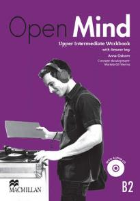 OPEN MIND B2 UPPER-INTERMEDIATE WORKBOOK (+ KEY + CD)