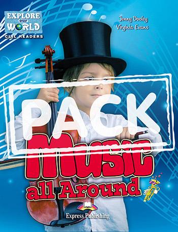 EOW 1: MUSIC ALL AROUND TEACHER'S BOOK  PACK (+ STUDENT'S BOOK + CROSS - PLATFORM APPLICATION + TEACHER'S BOOK  CD-ROM)