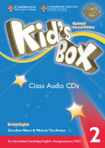 KID'S BOX 2 CD CLASS UPDATED 2ND ED
