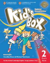 KID'S BOX 2 STUDENT'S BOOK UPDATED 2ND ED