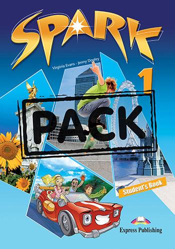 SPARK 1 POWER PACK 1 (+ LET'S CELEBRATE! + SPARK 1 PRESENTATION SKILLS + IEBOOK)